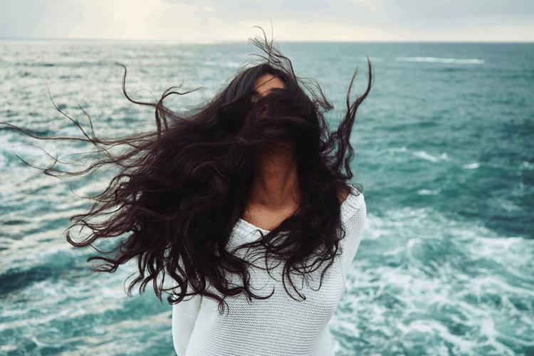 Haare im Sommer